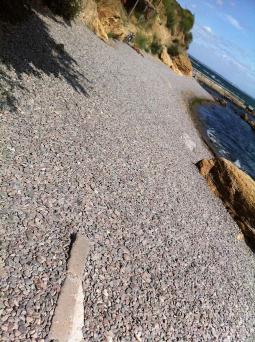 пляж галечный