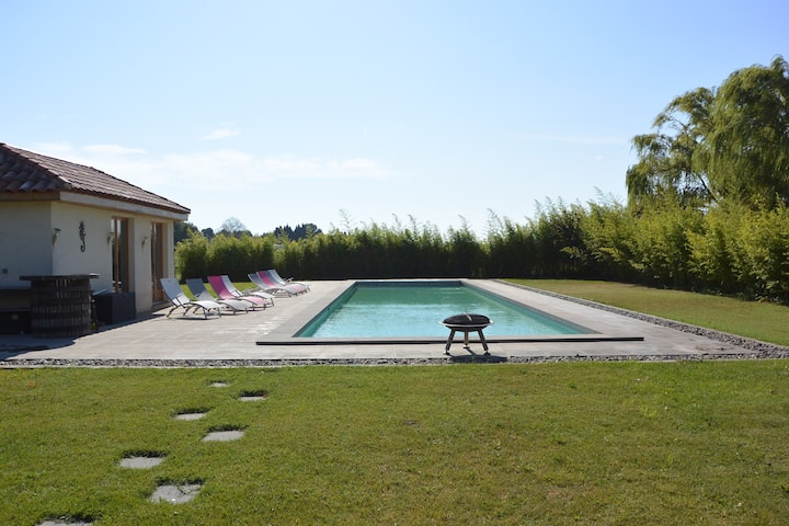 Canal du Midi, 20m pool, Spacious & Peaceful