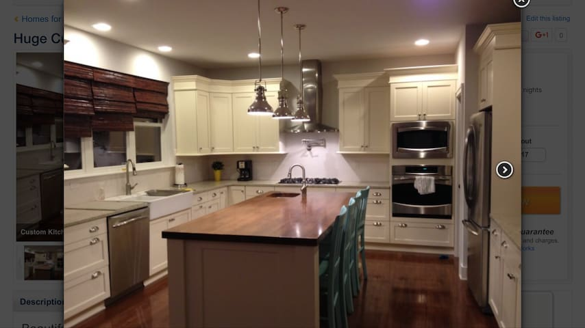 Huge custom 7 bedroom house! - Ann Arbor - Dom