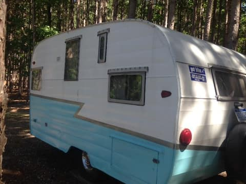 Camping/Glamping by Sleeping Bear- RV 1959 Camper