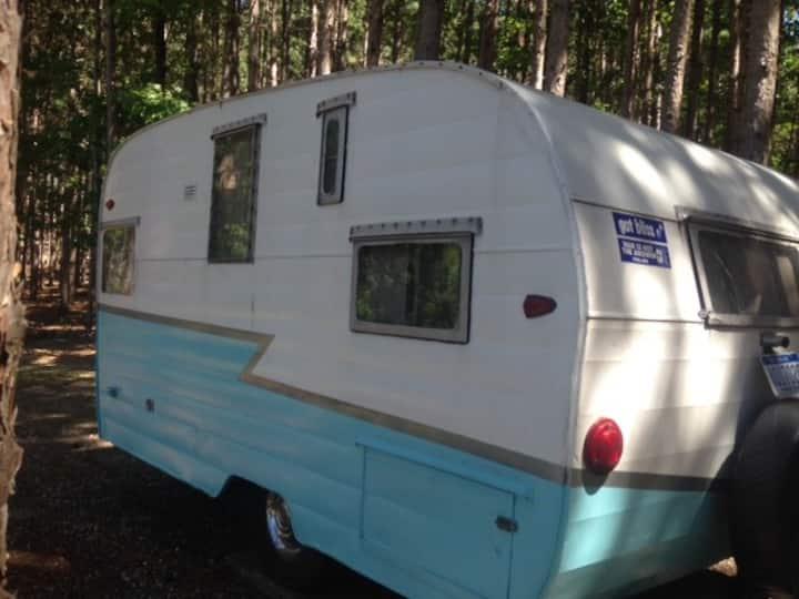 Camping/Glamping by Sleeping Bear- RV 1959 Camper