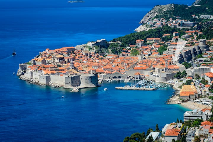 Pink Pearl in Center of Old Town with Terrace - Dubrovnik - House