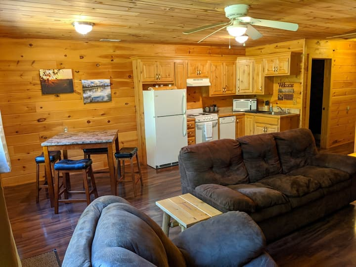 Galena Cabins #1 of 4 - Right on the James River!