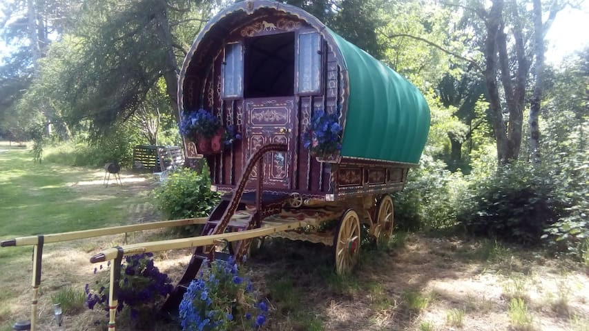 Romany Gypsy Caravan, Fort William, peaceful place