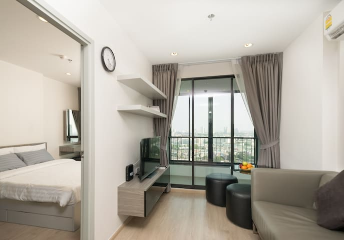Amazing View Condo near BTS - Bangkok - Appartement