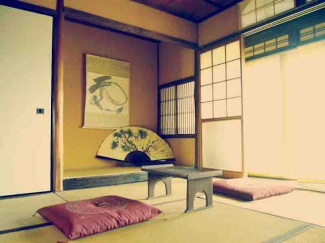 Free breakfast★Japanese style twin TATAMI bed room