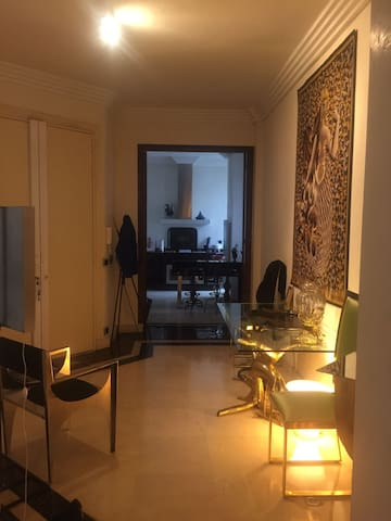 Upscale Art Apartment in the very chic Trocadero