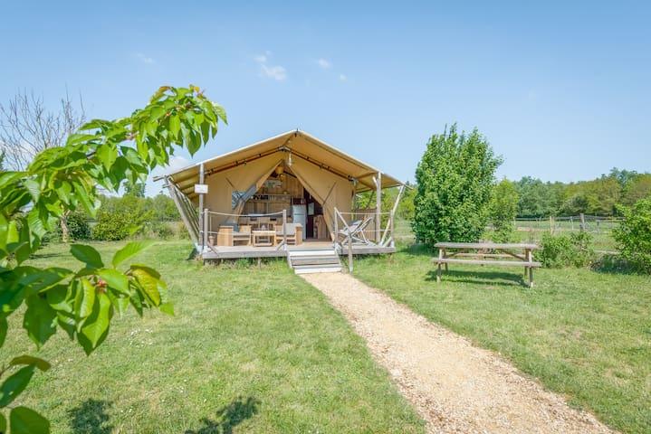 """Tente lodge safari """" La Clairière"""""""
