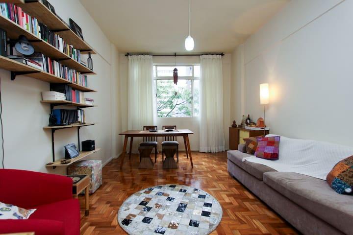 A cozy bedroom on Paulista Avenue. - São Paulo - Wohnung