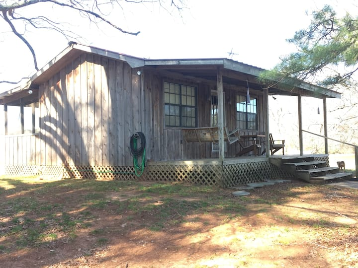 The Cedar Cabin on Logan Martin Lake