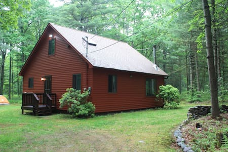 Catskill cabin w/home gym available Fall & Winter - Glen Spey