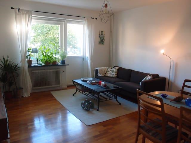 Fresh, spacious & calm room in Gothenburg - Göteborg - Apartemen