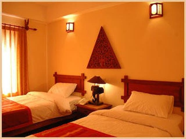 Private room in vang vieng