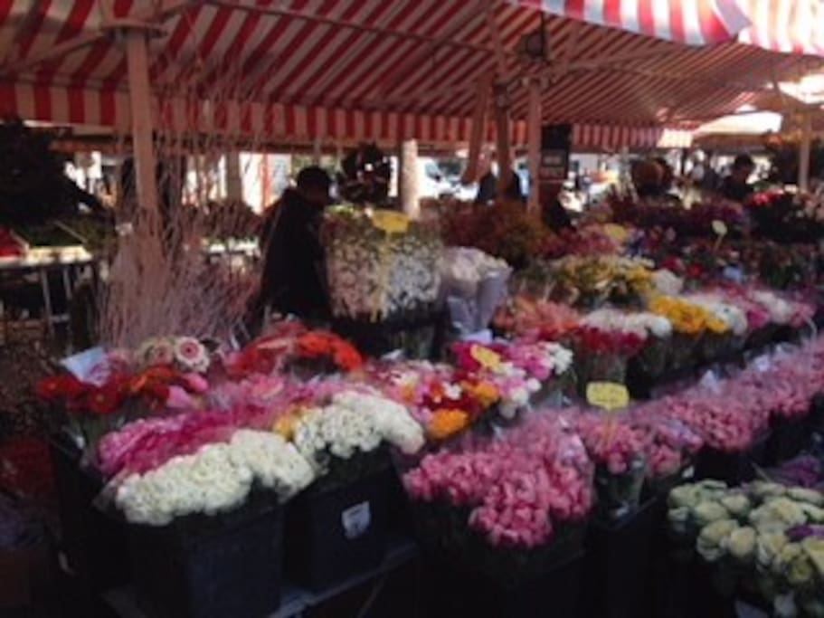One Block from the Flower Market