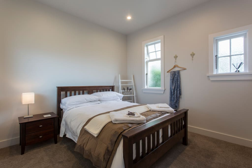 One of our newly renovated bedrooms complete with ensuite