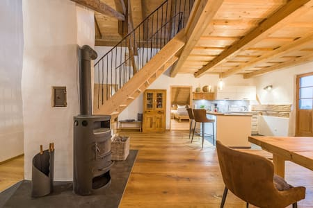 """Charming Apartment """"Weitblick"""" in Farmhouse with Balcony, Garden & Wi-Fi; Parking Available"""