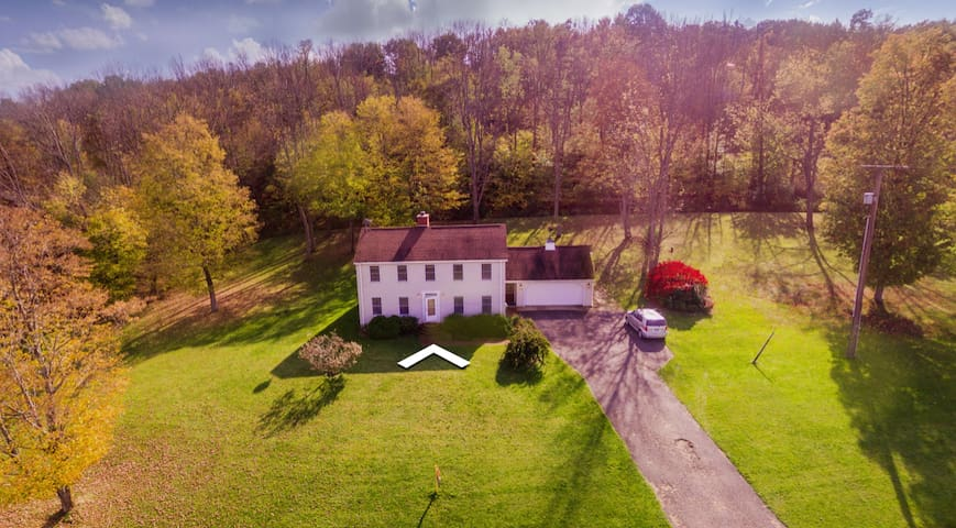Finger Lakes Country Estate 51 Acres