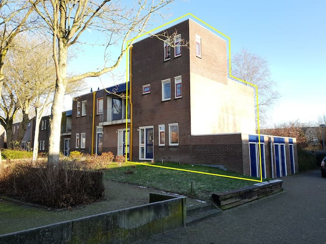Ruime woning vlakbij centrum van Groningen