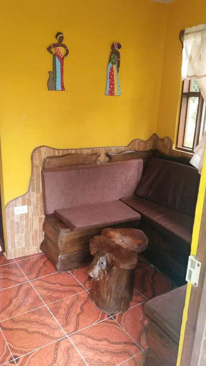 Apartamento dos personas en Puerto Viejo Centro