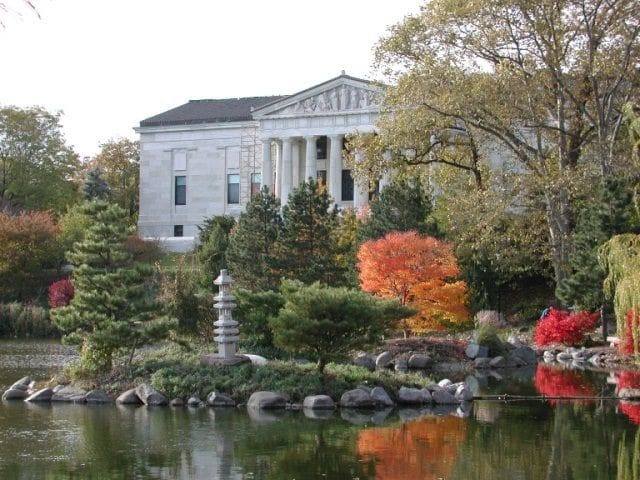 One of the many museums in Buffalo near Delaware Park