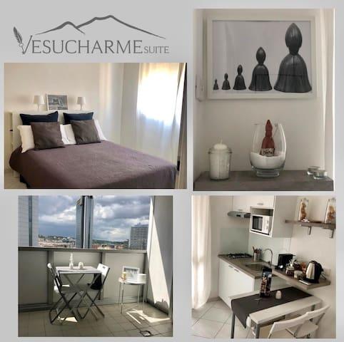 VESUCHARME SUITE Flat1 b&b Studios Residence