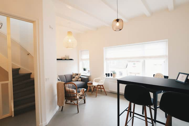 Cosy apartment in village close to 'Giethoorn'