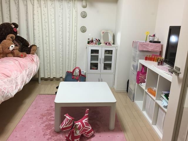 大学生の綺麗な部屋