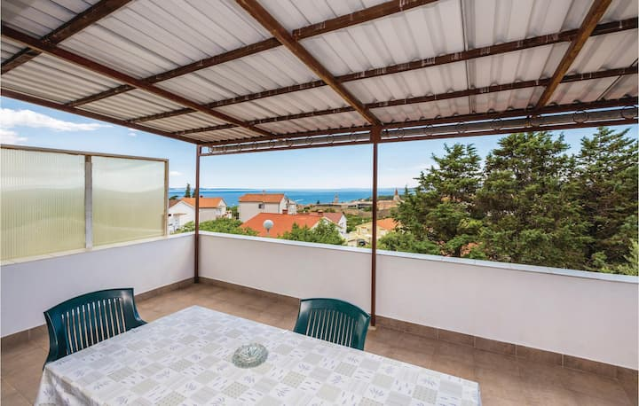 Nice home in Krk with WiFi and 2 Bedrooms