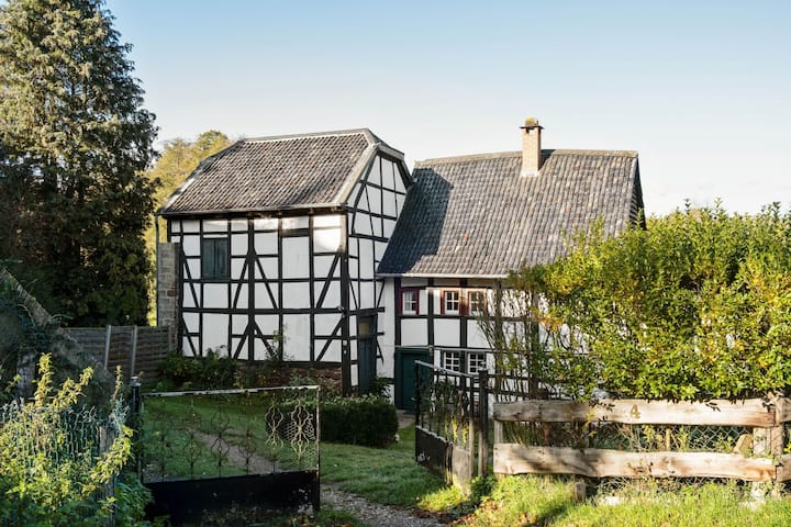 A lovely watermill surrounded by delightful greenery