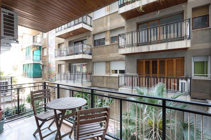 Apartment in Calella near the beach