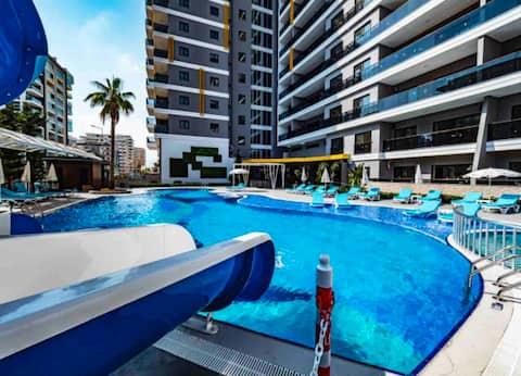 Appartement in een Premium woning 250meters van de zee
