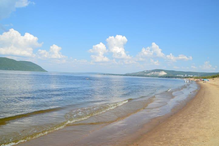 Солнце, пляж и дикий отдых. - Samara - Tenda de campanya