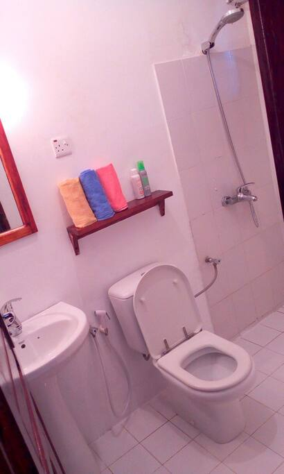 bathroom of a Master bedroom