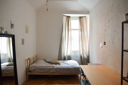 Spacious double room in central quite area - Praga - Apartamento