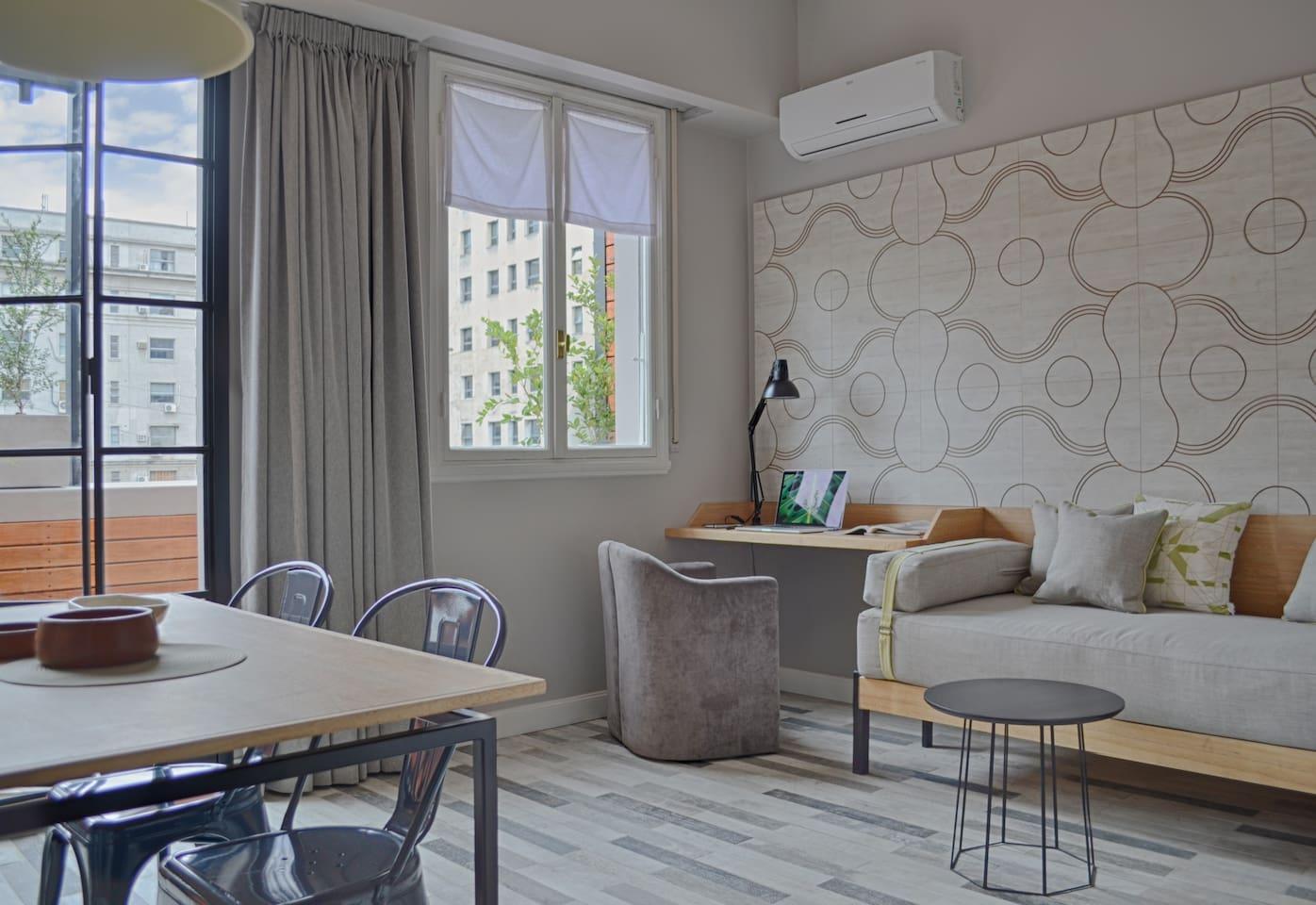Cozy & stylish apartment.
