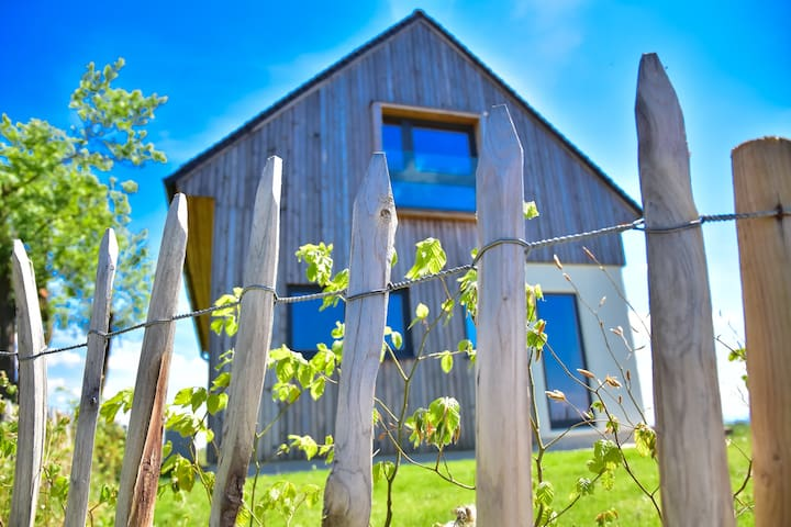 Eco house in middle of vineyard, unique location!