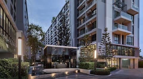 New Resort Condo near BTS Samrong Imperial Samrong