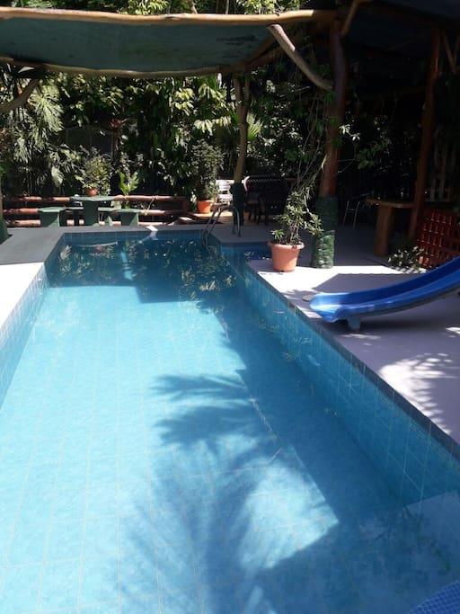 piscina de anfitrión