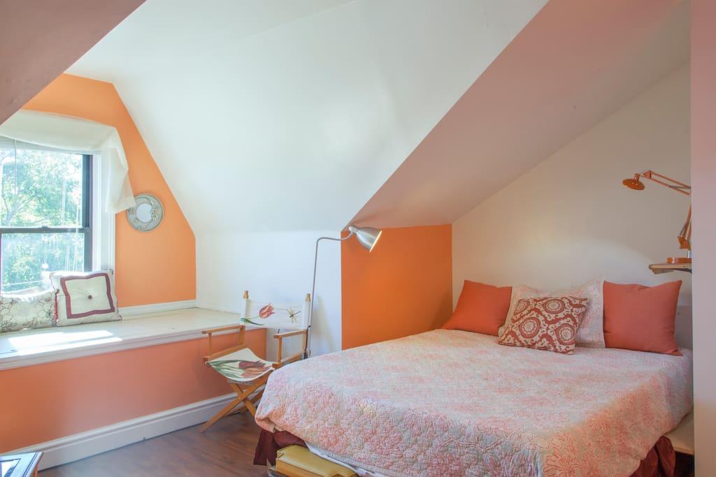 Tangerine bedroom
