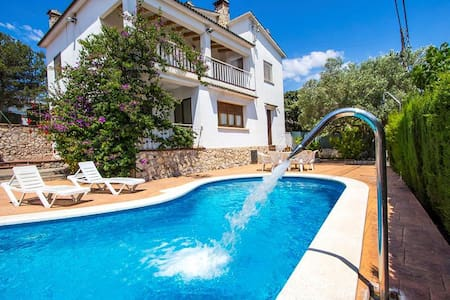 Villa Cal Vives for 12 guests, only 6km to the beaches of Costa Dorada! - Costa Dorada