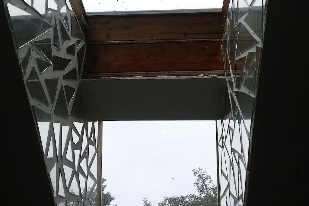 mirrored skylights