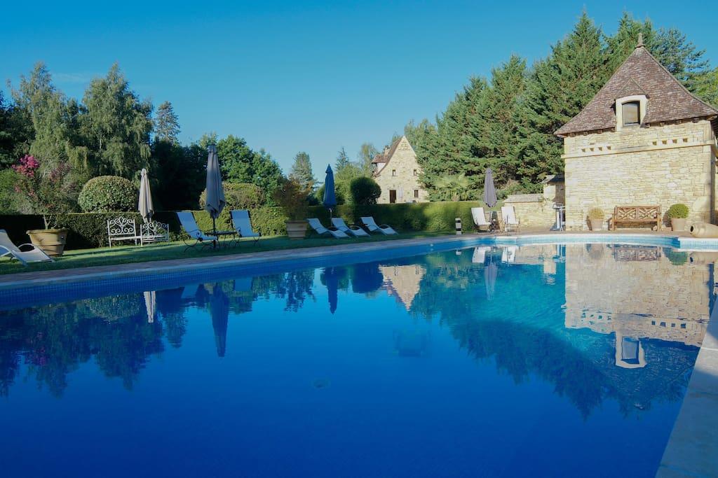 Sarlat chambre h tes 2 3p parc et piscine au calme for Chambre d hote aquitaine
