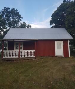 Stuga i Skirö, Smålands trädgård