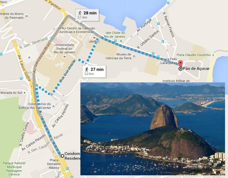 Ótima localização: cerca de 2km a pé de um dos pontos turísticos mais lindos do Brasil