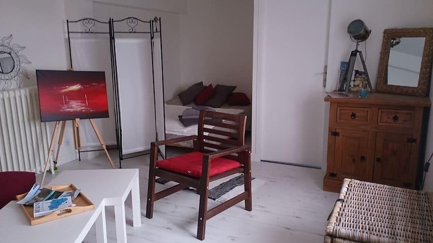 bel appartement de 40 m² avec terrasse et jardin. - Crozon - Byt