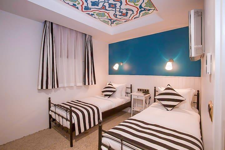 Twin Room | Araf Hotel | Mevlana Museum 130 m.
