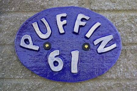 'Puffin' - 2 Bedroom Holiday Home Close to a Beach - Chalet