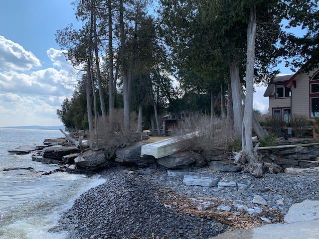 Lake Champlain Waterfront Luxury Estate