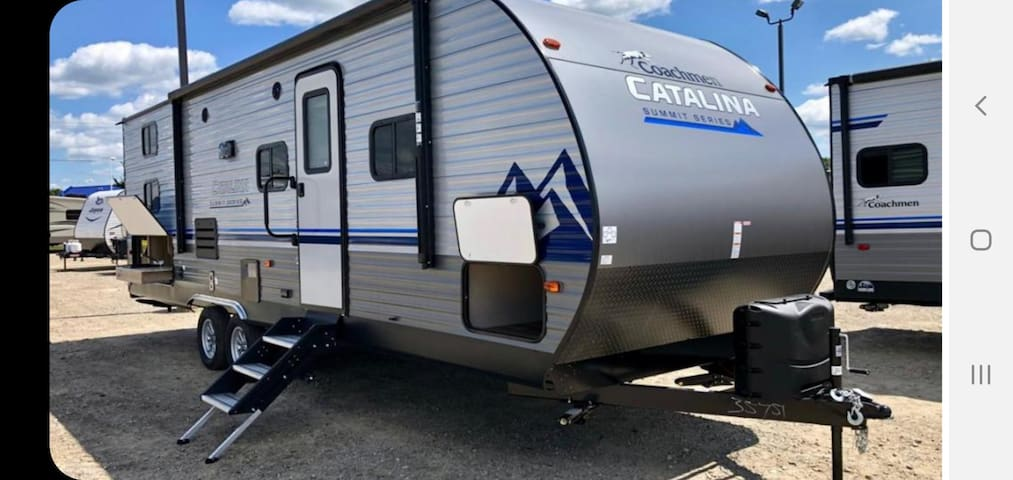 Camping RV brand new set up