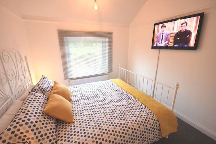 """Bedroom Two With King Size Bed - 42"""" Television"""